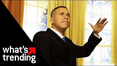 Obama vs Romney - Gangnam style