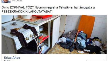 Miskolci Fidesz: ha bántanád a szegényeket, nyomj egy lájkot!