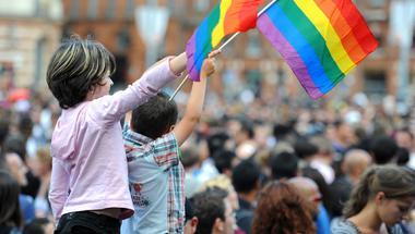 Nem vagyok érintett, szimplán szülő vagyok, ezért megyek ki a Pride-ra