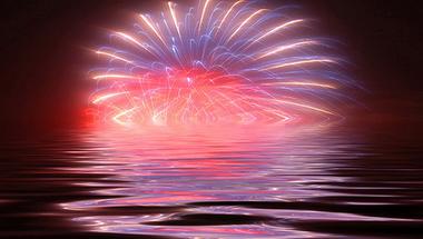 Tűzijáték és árvíz