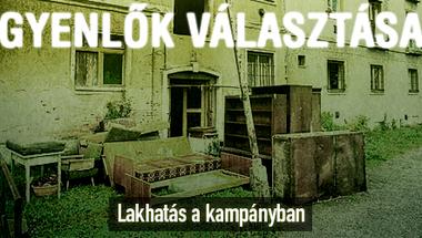 A lakhatás sem kampánytéma