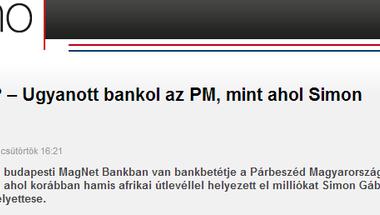 A Magnetnél van számlája? - Akkor ön a Fidesz szerint feltehetően tolvaj!