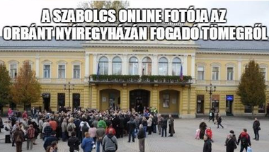 Facebook-posztunk nyomán törölték az Orbánnak kínos cikket és képet