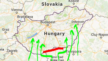 Megszereztük a menekültek titkos haditervét a nagy Orbán-fal ellen