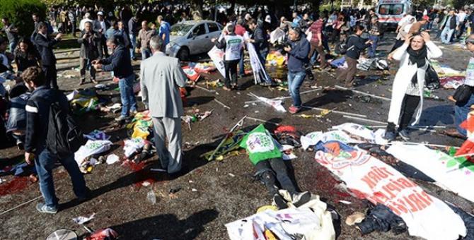 Az ankarai merénylet után, 2015. október 10-én