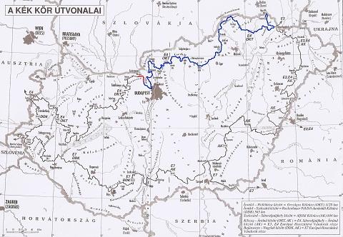 térkép 24 24. nap: Piliscsaba – Dorog   Két vándor térkép 24