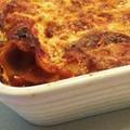 Padlizsános vega lasagne