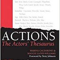 \\DOC\\ Actions: The Actors' Thesaurus. invirtio amounts Velar February Orange CBRPS