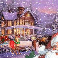 Hull, a pelyhes fehér hó itt van már a Télapó....:)