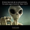 Sok(k) vagyok másoknak - avagy UFOként a Földön
