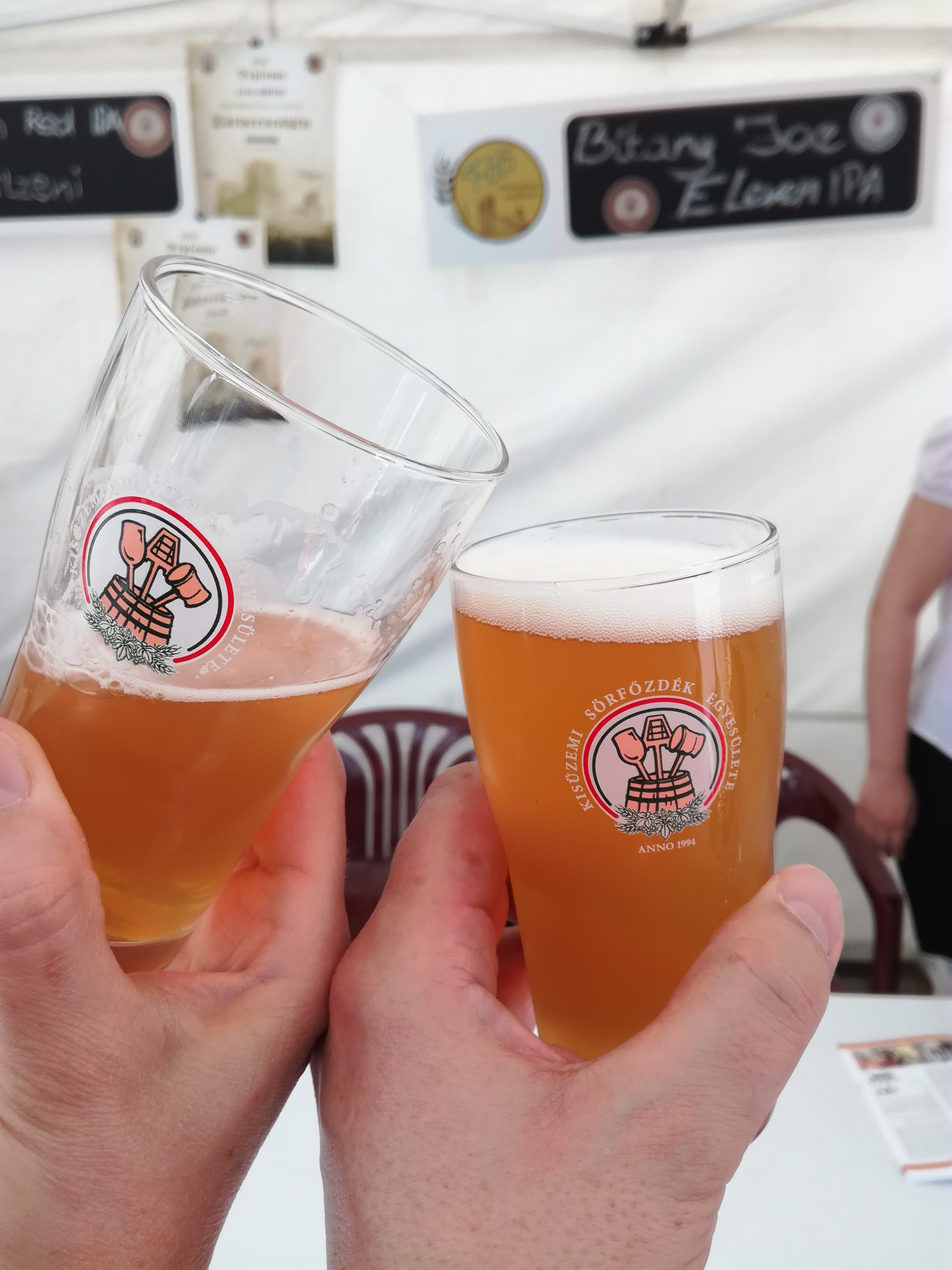 A legjobb sör nekem a Bitang Joe és aztán az Eleven ipa volt. Kerestem, de nem volt párja a fesztiválon. Aztán el is fogyott.