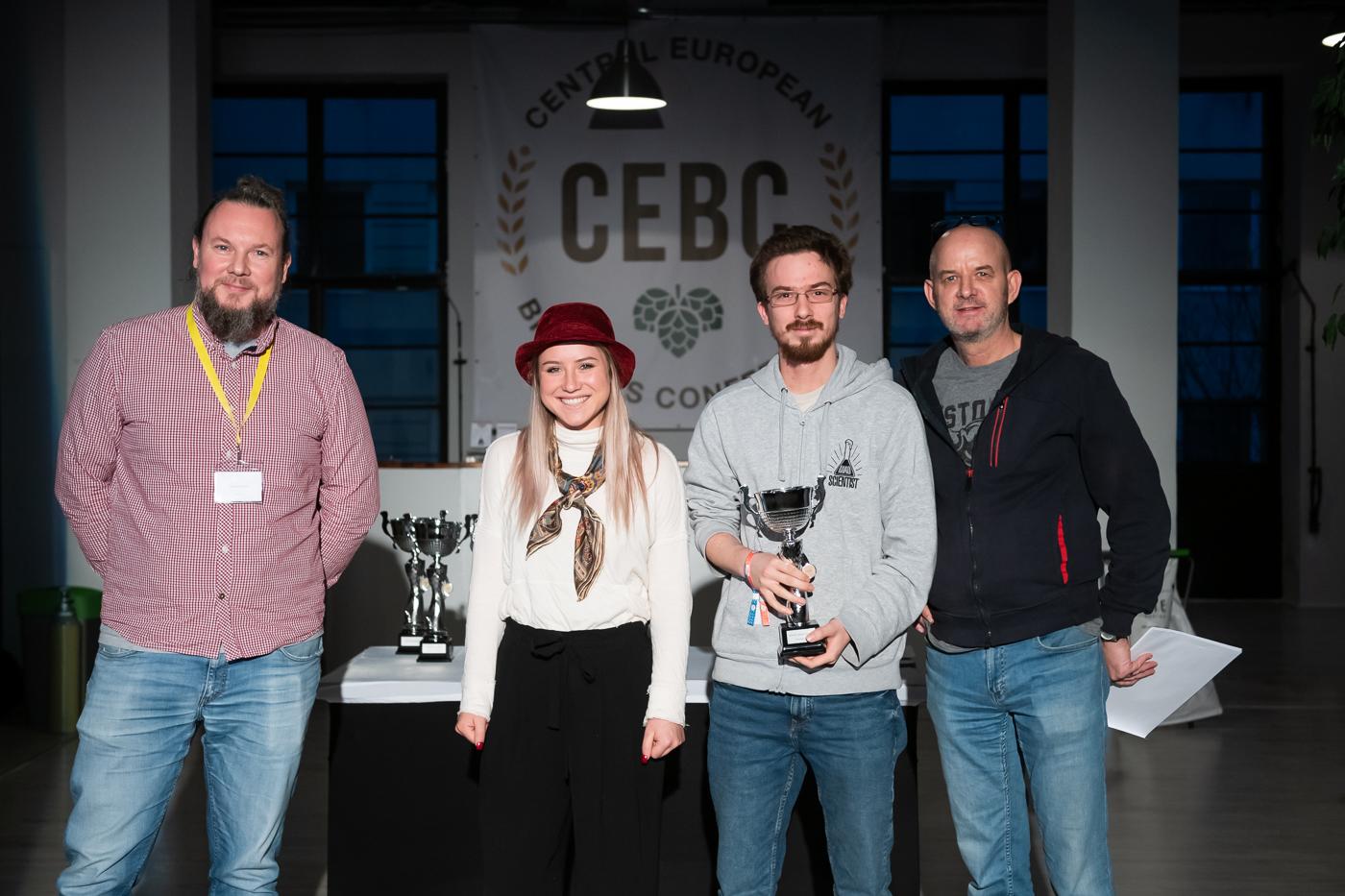 European Craft Beer Cup (ECBC) a díjazottak: <br /> Fotó: CEBC
