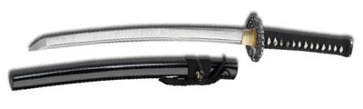 Fegyverek, felszerelések, eszközök Wakizashi