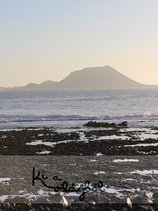 Lobos szigete reggel
