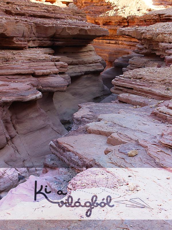 Felülről is impresszív látvány a kanyon