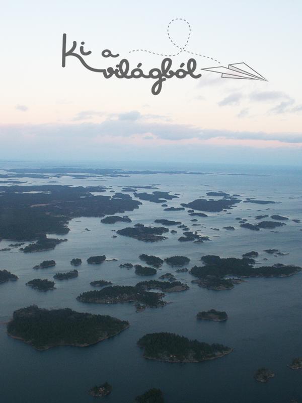 A Balti-tenger parti szigetecskéi a levegőből