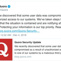 Feltörték a Quora-t, legalább 100 millió felhasználó adataihoz fértek hozzá