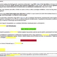 """GDPR Hasznos Holmik – a hírlevél listák """"kimosdatása"""""""