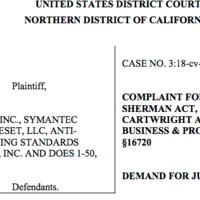 Kellemetlen anti-tröszt perbe keveredett a Symantec és az ESET