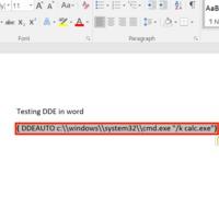"""""""Macro-less"""" malware – Triviális kódfuttatási lehetőség a Word-ben"""