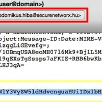 Ultraszodómikus email kliens sérülékenység