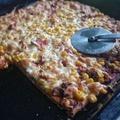 Szénhidrát csökkentett házi pizza
