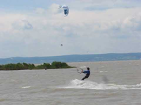Podersdorf, a biciklisek kitesurf-paradicsoma