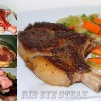Vega kaja után most jöhet egy véres konc - Rib eye steak, glasszírozott zöldségekkel