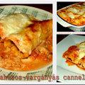 Marhahúsos-vargányás cannelloni paradicsomszószban