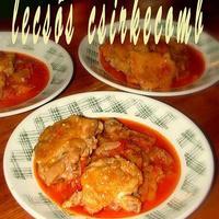 Lecsós csirke