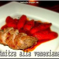Sült kacsamell velencei módra – Anitra alla veneziana