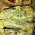 Döglött halas kenyér piritott gecivel