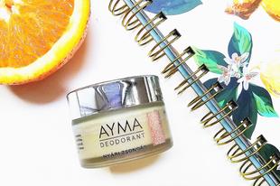 Teszteltem: Ayma Deodorant