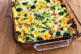 Recept:Sonkás-brokkolis csoda