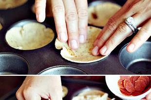Vendégváró mini pizza