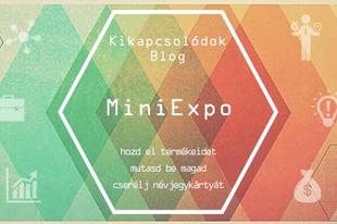 Kikapcsolódok blog MiniExpo
