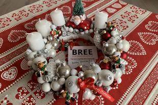 Teszteltem: Bree Virág adventi koszorú
