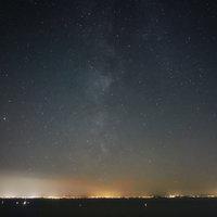 Éjszaka a Balaton fölött