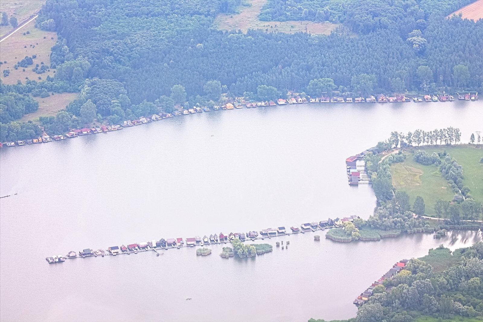 A bokodi tó kevésbé fotózott, déli része