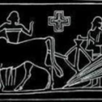 A Nibirut ábrázoló nippuri pecséthenger