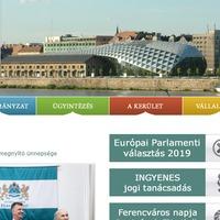 www.ferencvaros.hu - amiről az elmúlt években önkormányzatunk elfeledkezett