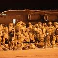 A NATO gyorsreagálású légideszant gyakorlata