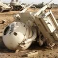 Zsákmányolt brit Rapier légvédelmi rakétarendszer Irakban