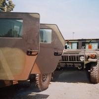 Humvee terepjárók a hadak útján