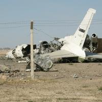 Egy ritka repülőgép roncsa
