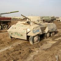 II. világháborús harcjármű Irakban