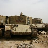 Akkor kezdjük el egy igazi ritkasággal, T-55-ös harckocsiból önjáró aknavető.