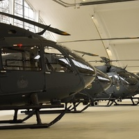 A H145M helikopterek hivatalos átadó ünnepsége