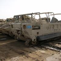 Páncélozott szállító harcjárműből teherautó.