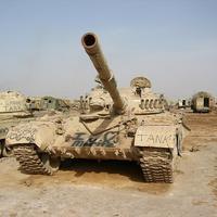Iraki T-72-esek